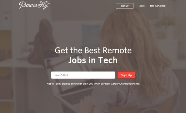 PowerToFly: Die Plattform vermittelt Remote-Jobs an Frauen in IT-Berufen. (Screenshot: PowerToFly)