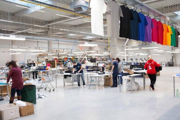 Startup-News: Erst vor Kurzem ist die neue Produktionsstätte in Tschechien gefeiert worden, jetzt wird die Produktion in Leipzig abgewickelt. (Foto: Spreadshirt)