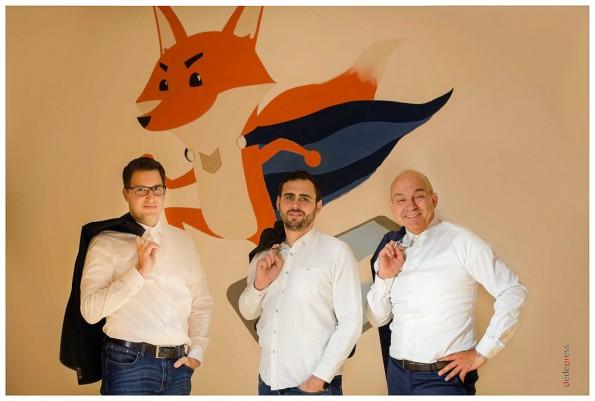 Das Gründerteam von FinanceFox. (Foto: FinanceFox)