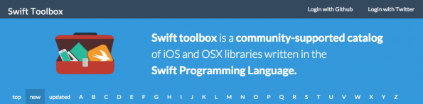 Dein Katalog für Swift. (Screenshot: swifttoolbox.io)