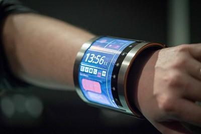 So stellt sich FlexEnable die Smartwatch der Zukunft vor. (Bild: FlexEnable)