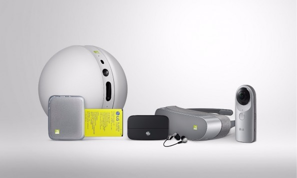 Die komplette LG-G5-Familie. (Fofo: LG)