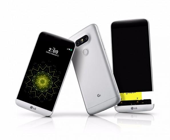 Das ist das LG G5. (Foto: LG)