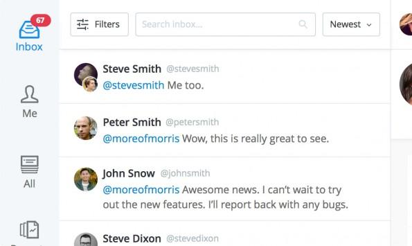 Kundensupport: Dank Buffers Respond sollt ihr keine Beschwerde auf Twitter mehr übersehen. (Screenshot: Buffer)
