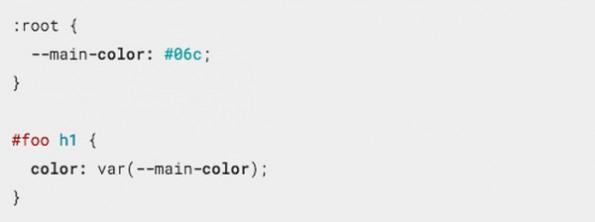 CSS-Variablen: Custom Properties im Einsatz. (Screenshot: Google)