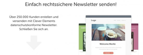 E-Mail-Marketing von Cleverelements.