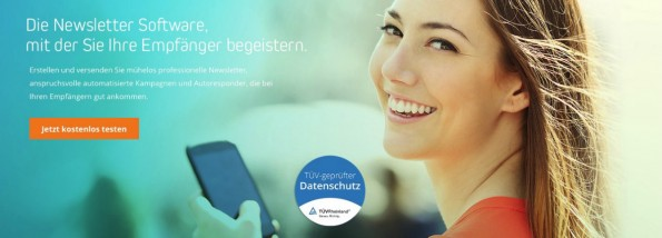 E-Mail-Marketing von Newsletter2Go.