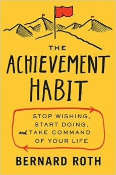 "Wie man erfolgreicher mit der richtigen Wortwahl wird, erklärt Bernard Roth in ""The Achievement Habit"". (Cover: HarperBusiness)"