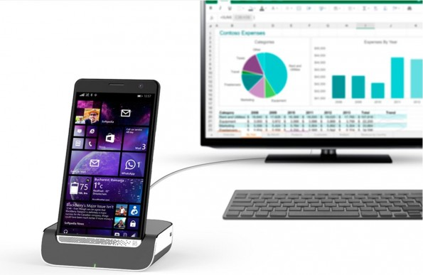 HP Elite X3: Windows-10-Mobile-Smartphone. (Bild: HP)