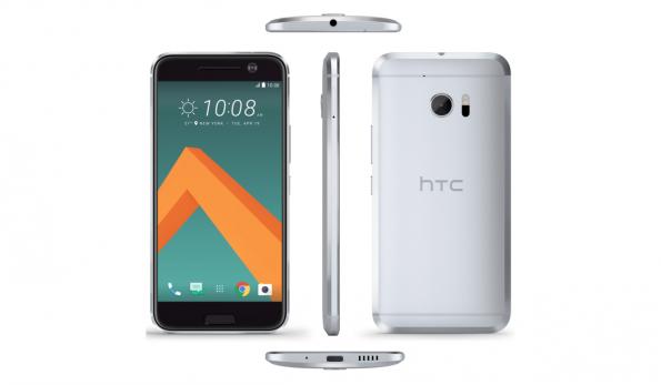 Das HTC 10 von allen Seiten. (Bild: VentureBeat)