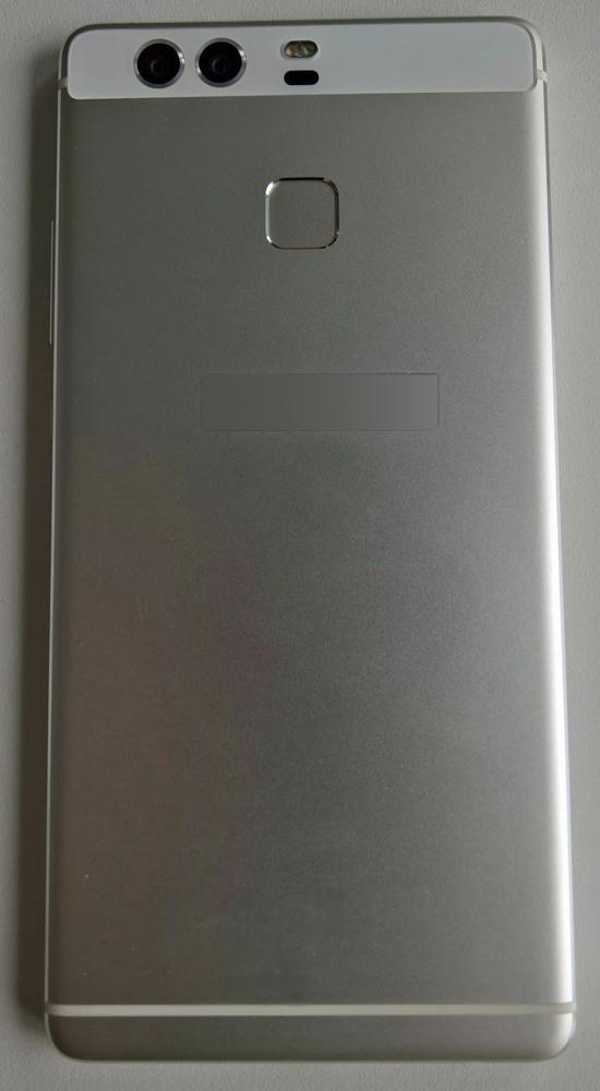 Das Huawei P9 von hinten. (Foto: VentureBeat)