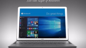Huawei MateBook: Ein iPad Pro mit Windows 10 [MWC16]