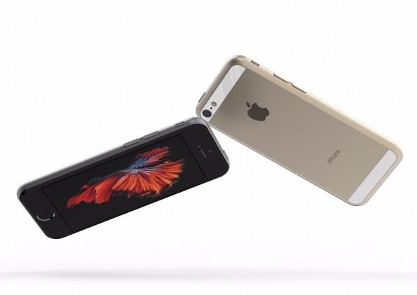 So könnte das iPhone SE aussehen. (Bild: Tomas Moyano; Behance)