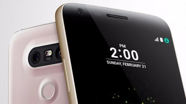 Das LG G5 besitzt ein Always-on-Display und Dual-Kamera auf der Rückseite. (Bild: LG)