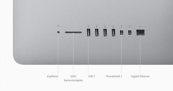 Nicht nur beim iMac soll nach dem OS-X-Update der Ethernet-Port streiken. (Bild: Apple)