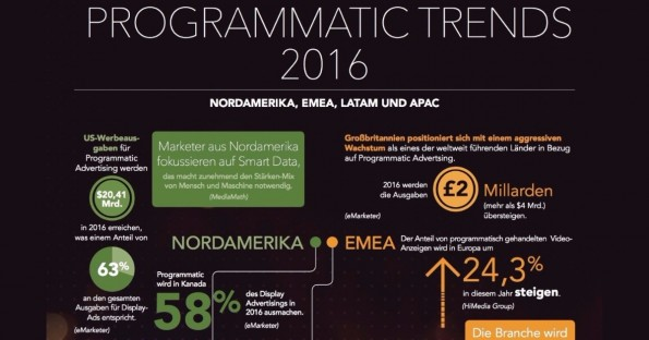 Programmatic Advertising-Trends 2016. (Grafik: Frische Fische; MediaMath)