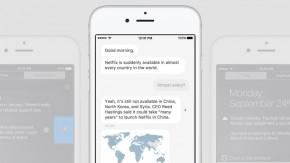 Diese Nachrichten-App lässt dich mit einem Bot reden