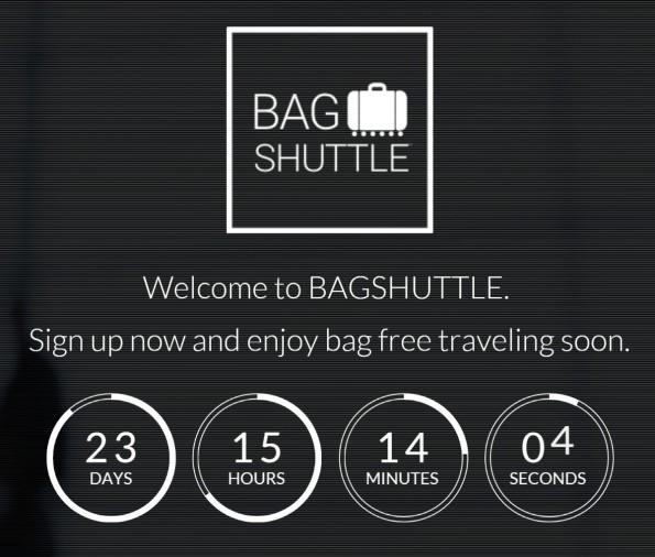 Bagshuttle will das Reisen ohne Gepäck ermöglichen. (Screenshot: Bagshuttle)