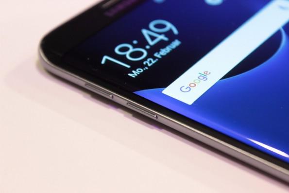 Das Samsung Galaxy S7 edge gehört zu den MWC-Highlights von Samsung. (Foto: t3n)