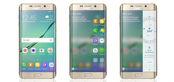 Das Samsung Galaxy S6 edge erhält mit dem Android-6.0.1-Update neue Funktionen. (Bild: Samsung)