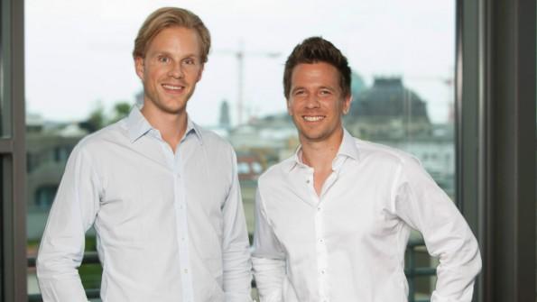 Die Spotcap-Gründer Toby Triebel und Jens Woloszczak. (Foto: Spotcap)