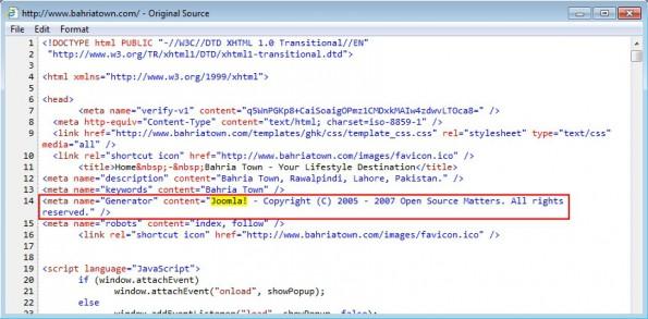 TeslaCrypt: HTML-Code einer kompromittierten Seite. (Screenshot: Brad Duncan/InfoSec Forums)