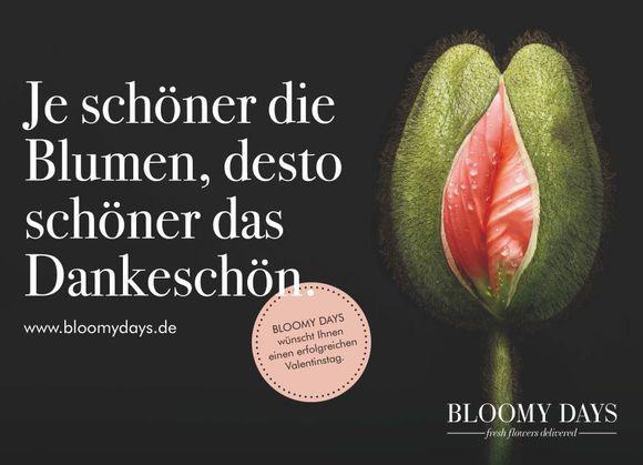 Wer Blumen schenkt, kriegt Sex? (Bild: Bloomydays)