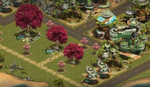 Auch Romantiker sollen bei Forge of Empires auf ihre Kosten kommen (Bild: Screenshot Facebook / Forge of Empires)