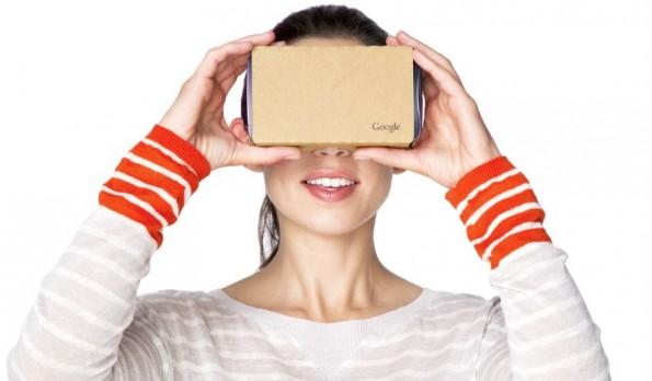 Google Cardboard ist eher Spielerei als waschechte Virtual Reality. (Foto: Alphabet)