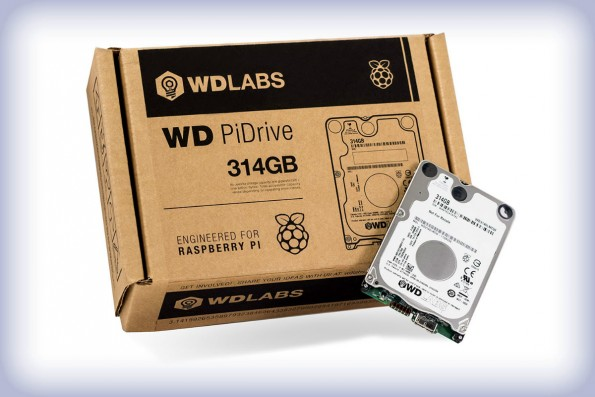 PiDrive: Festplatte für den Raspberry Pi (3). (Foto: Western Digital)