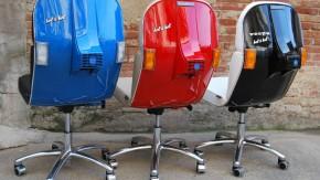 Vespa unterm Hintern: Mit diesen Bürostühlen machst du mächtig Eindruck