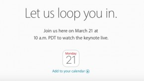"""Let us loop you in"": Apple bestätigt Produkt-Event am 21. März"
