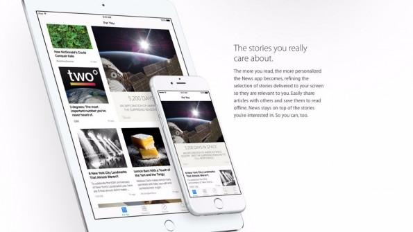 Apple News soll mit einer Vielzahl an Publishern zu einem Nachrichtenaggregator werden. (Bild: Apple)