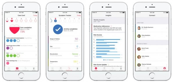 CareKit: Apples neues Open-Source-Framework für Gesundheits-Apps. (Grafik: Apple)