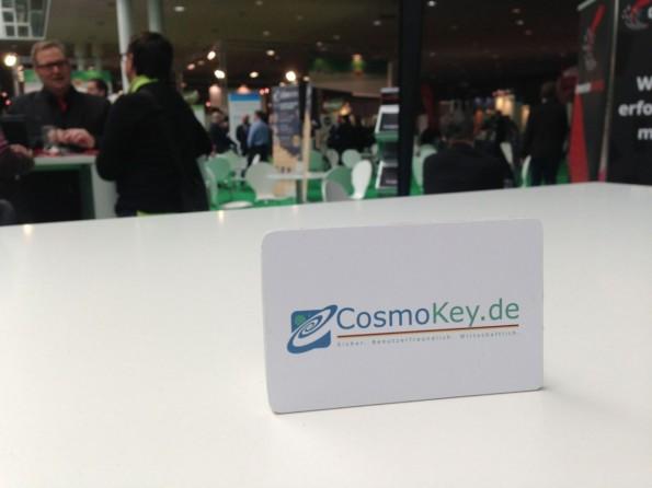 Multi-Faktor-Authentifizierung mit Hardware-Token: Der CosmoKey im Scheckkartenformat. (Foto: t3n)