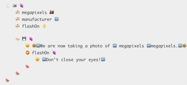 Emojicode: Programmieren mit Emojis. (Screenshot: emojicode.org)