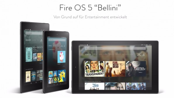 Fire OS 5 Bellini soll trotzdem sicher sein. (Bild: Amazon)