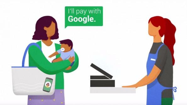 """Das Bezahlsystem """"Hands Free"""" erkennt, ob sich das Smartphone in der Nähe der Kasse befindet. (Bild: Google)"""
