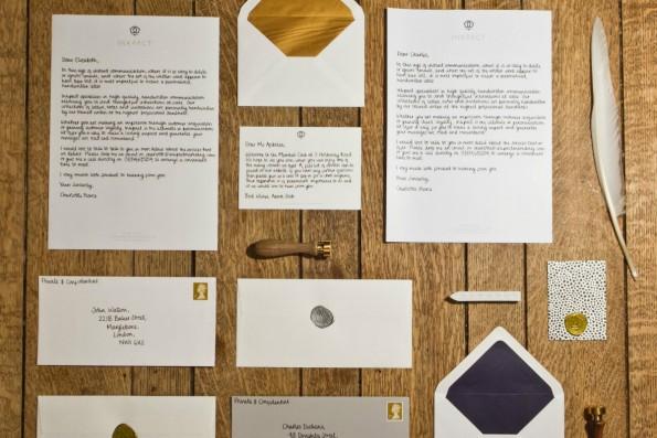 Mit Online-Diensten wie Inkpact oder ScribleMail lassen sich handgeschriebene Werbe-Mails auch mit System verschicken. (Foto: inkpact)