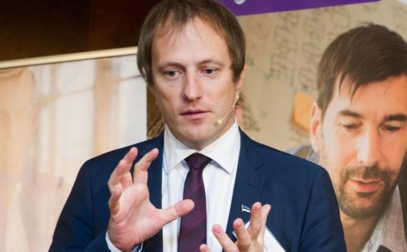 """Taavi Kotka, der CIO der estnischen Regierung, verantwortlicj für die digitale Gesellschaft in Estland """"e-Estonia"""").(Foto: Hackerparadise)"""