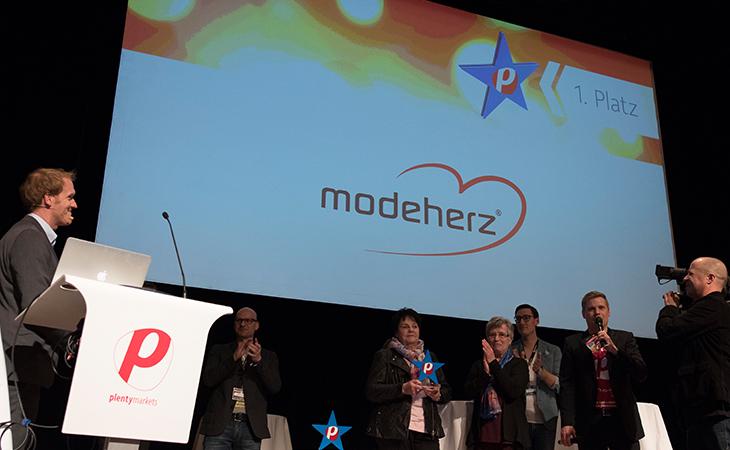 modeherz heißt der Gewinner des plenty-Awards 2016.