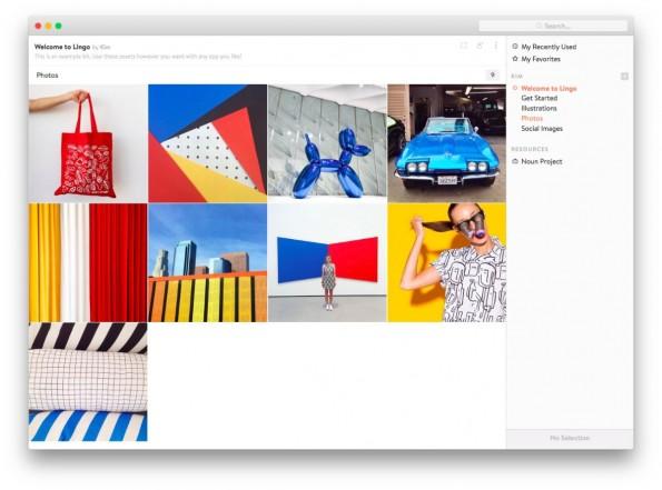 Mit Lingo verwaltet ihr eure Design-Assets im Team. (Screenshot: Lingo)