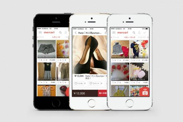 Mercari ist ein Peer-to-Peer-Marktplatz für Modeartikel. (Bild: Mercari)