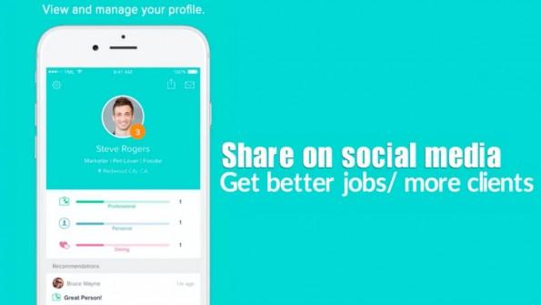 Peeple verspricht Nutzern Kontrolle über ihr Profil und die Anzeige der Empfehlungen. (Bild: Screenshot)