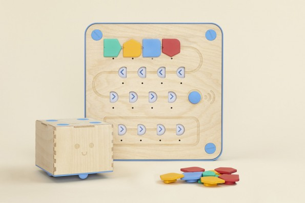 Programmieren für die ganz Kleinen: Cubetto richtet sich an Kinder ab drei Jahren. (Foto: Primo Toys)
