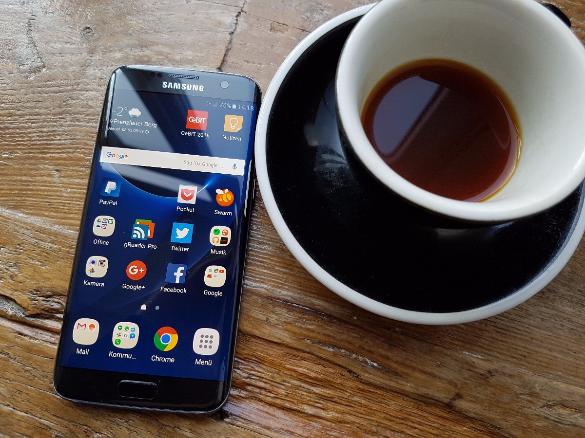 samsung galaxy s7 und s7 edge im test so geht evolution t3n. Black Bedroom Furniture Sets. Home Design Ideas