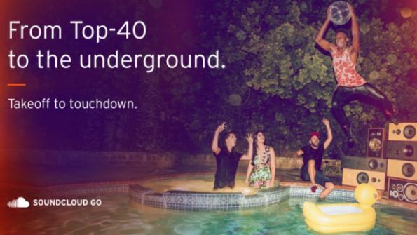 "SoundCloud gibt ""Go""-Usern Zugriff auf lizensierte Musik. (Bild: SoundCloud)"