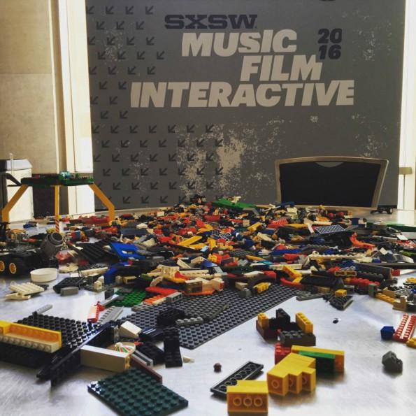 Lego für Geeks auf der SXSW in Austin. (Foto: Martin Recke)