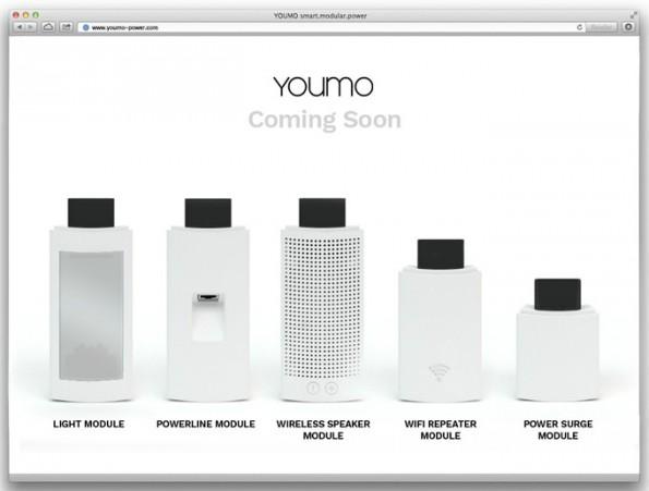 Module für die smarte Youmo-Mehrfachsteckdose. (Bild: Kickstarter/Good Gadgets)