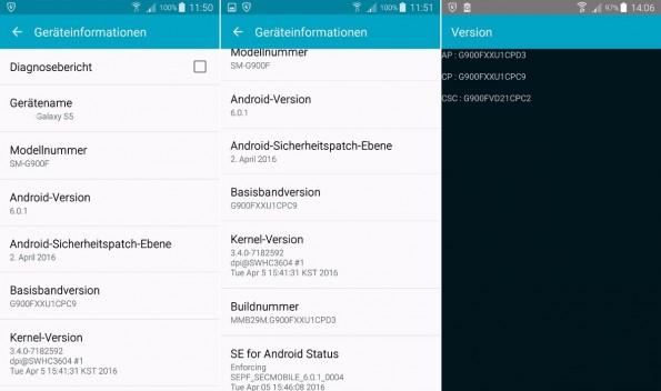 Android 6.01 MArshmallow landet endlich auf dem Samsung Galaxy S5 in Deutschland. (Bild: AllAboutSamsung))